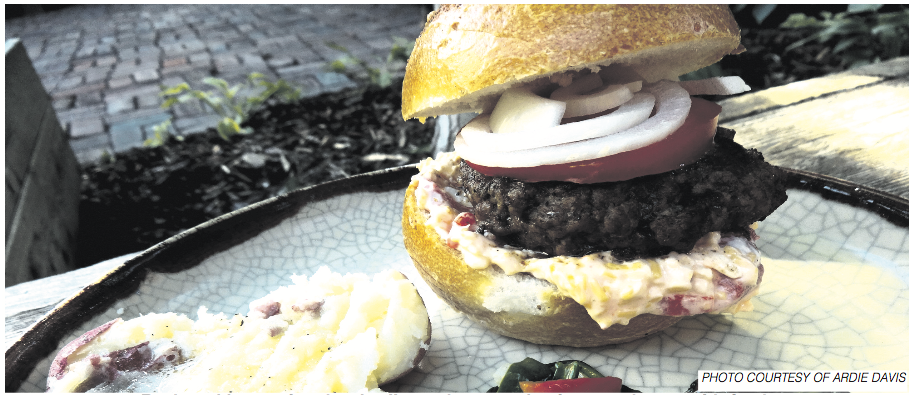 Ardie Davis Beard Burger