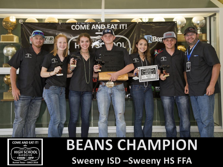 2018 Texas HS Beans Winners