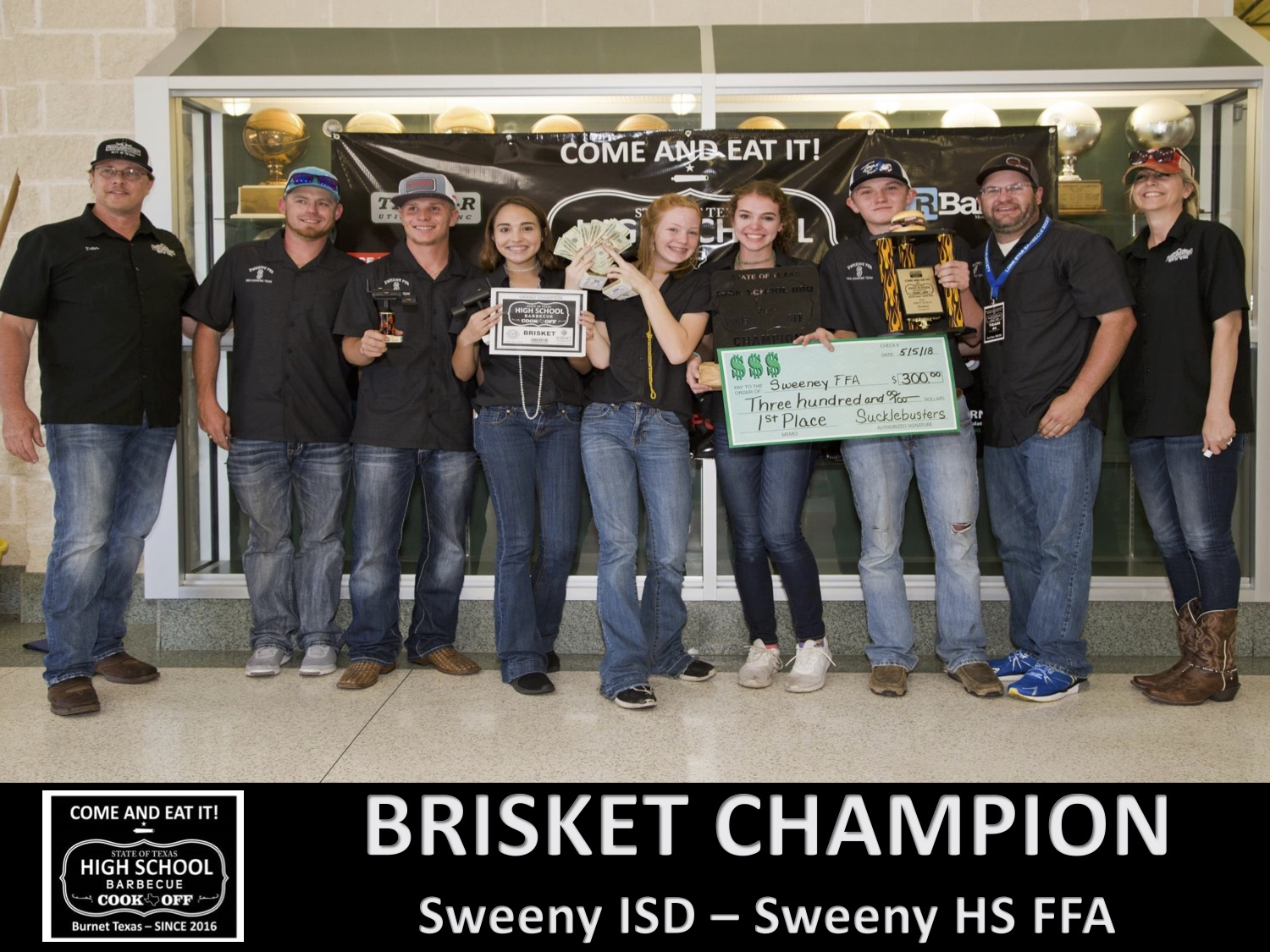 2018 Texas HS Brisket winner