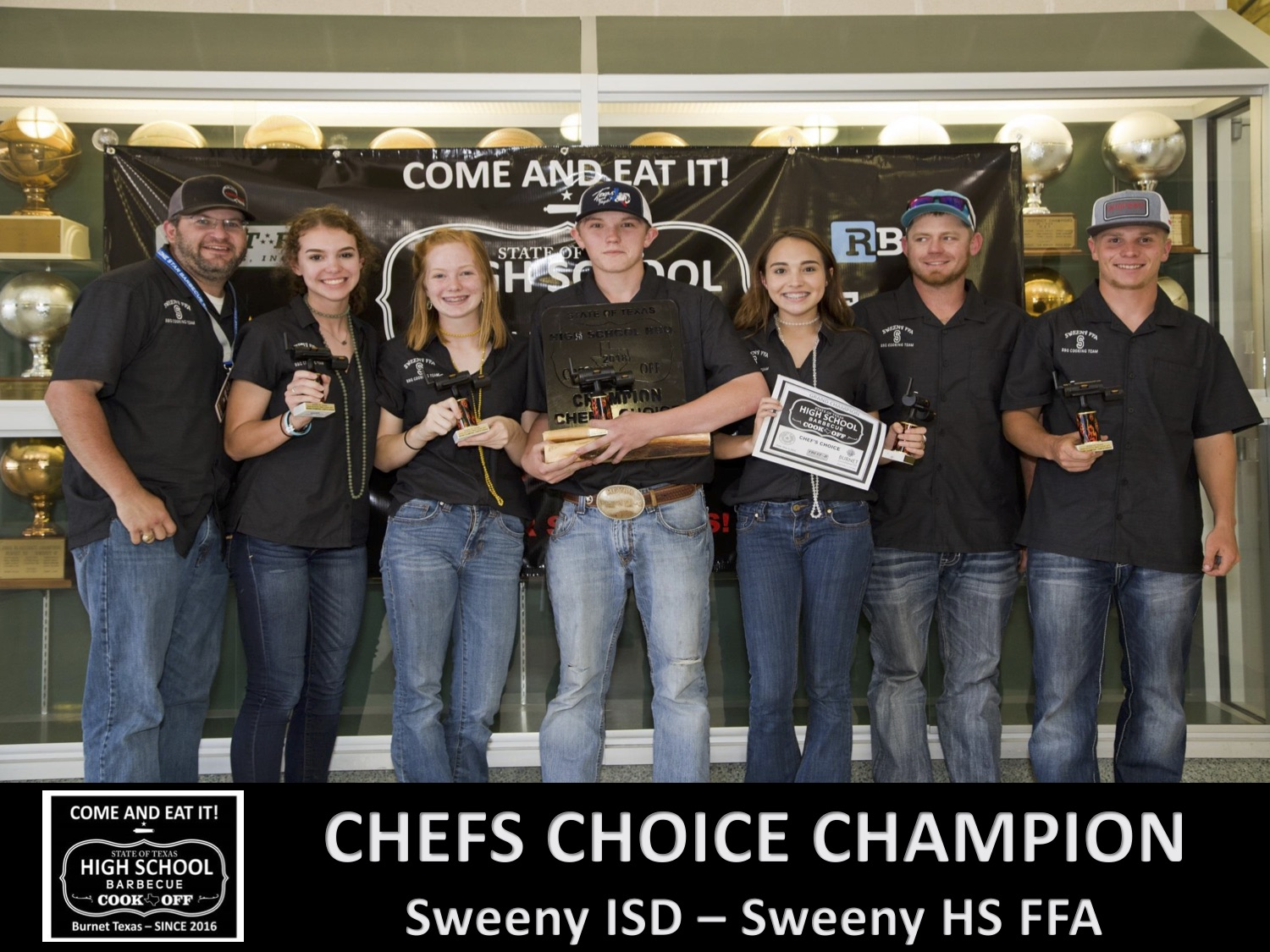 2018 Texas HS Chefs Choice