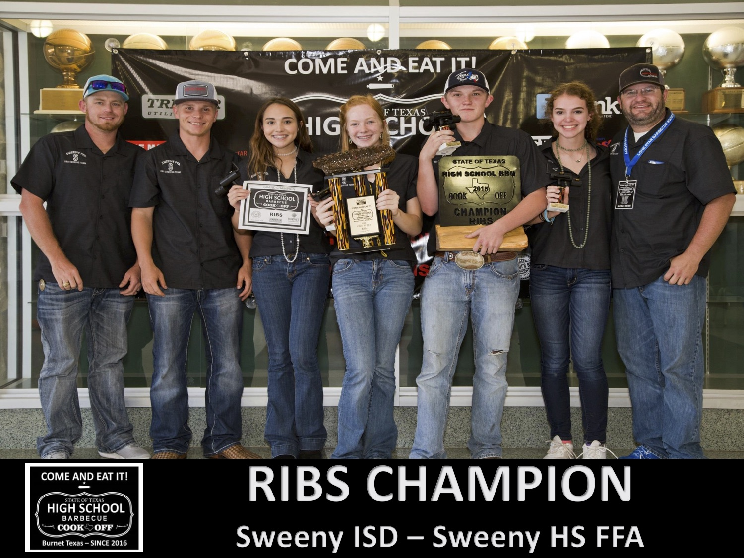 2018 Texas HS Ribs Winner