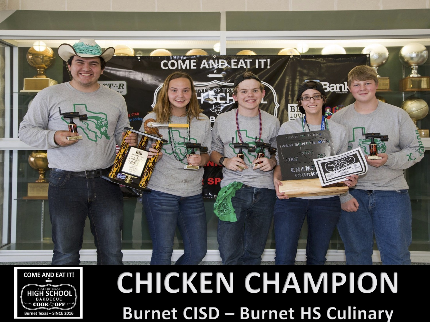 2018 Texas HS chicken Winners