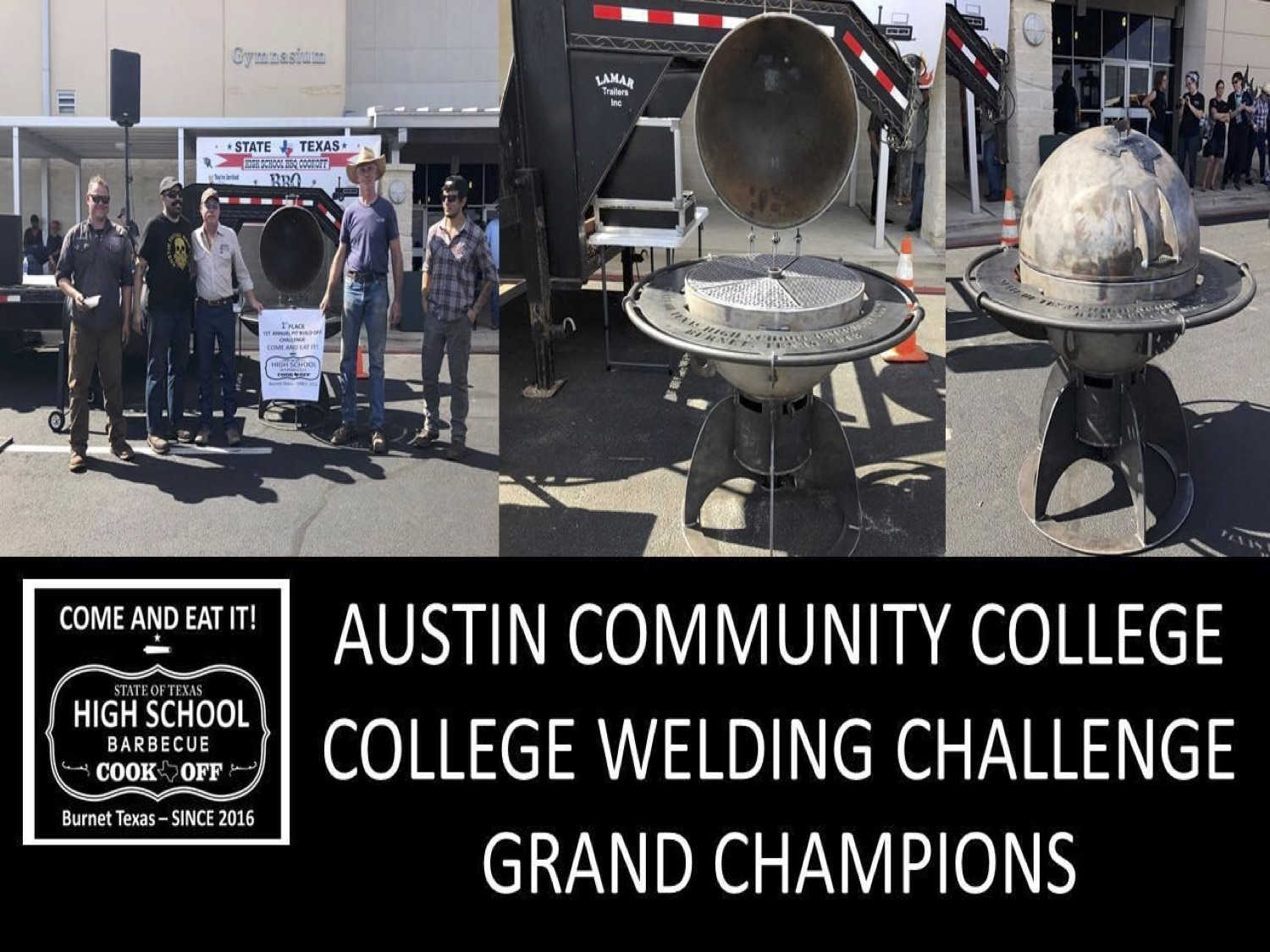 2018 Texas HS college welding champs