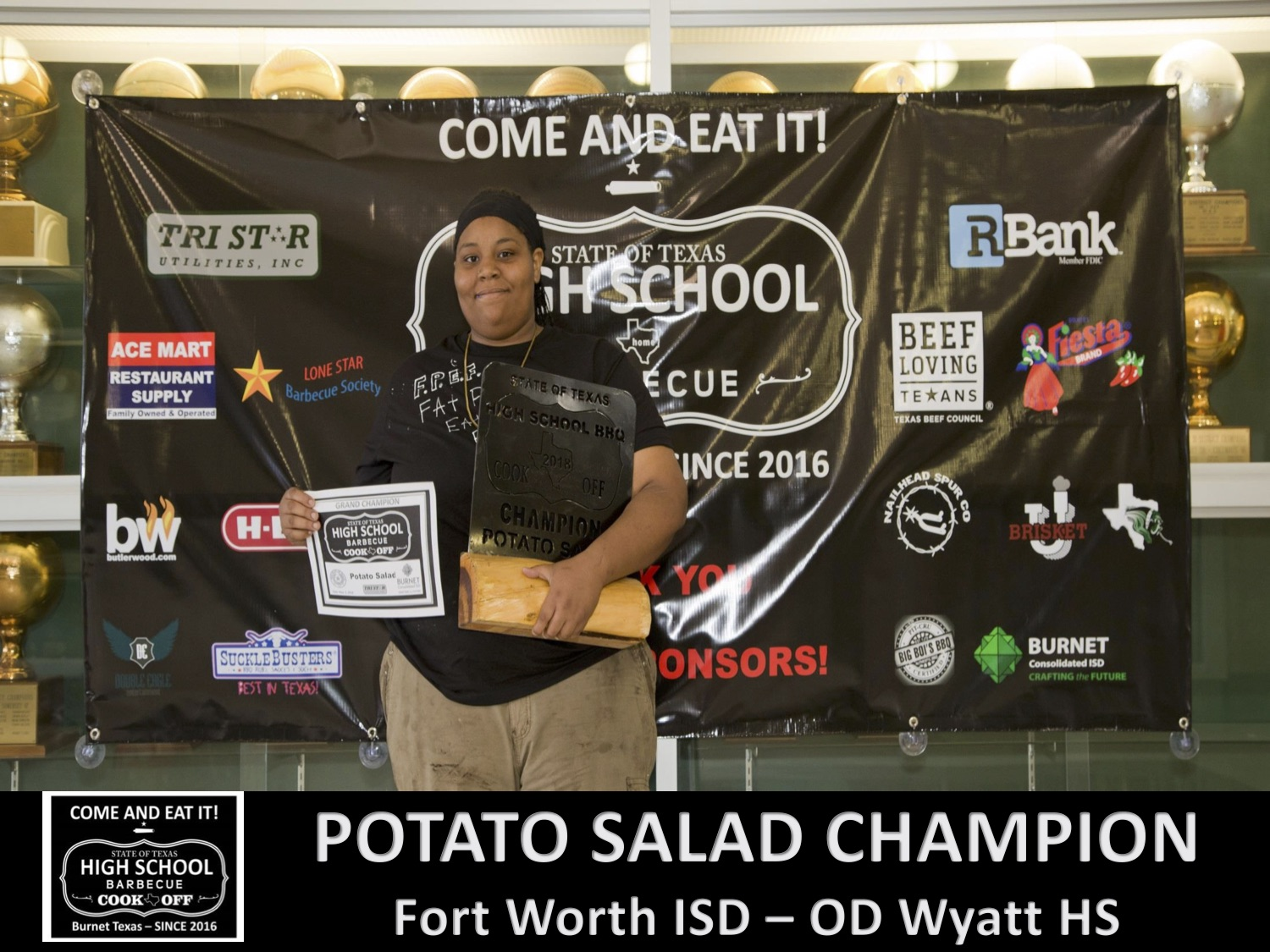 2018 Texas HS potato salad
