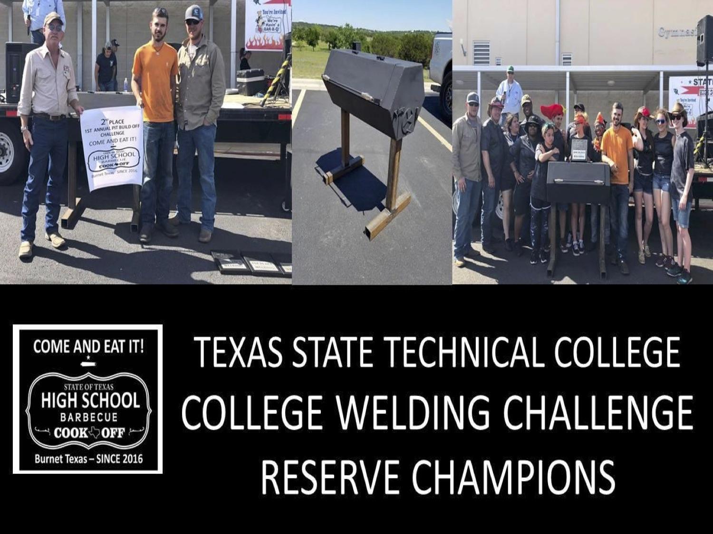 2018 Texas HS reserve welding