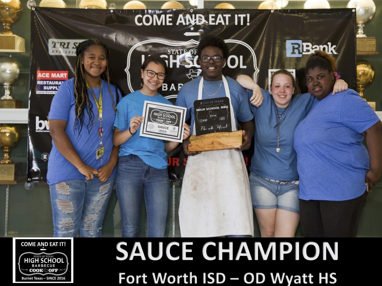 2018 Texas HS sauce winner