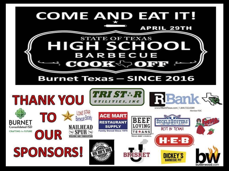2018 Texas HS sponsors