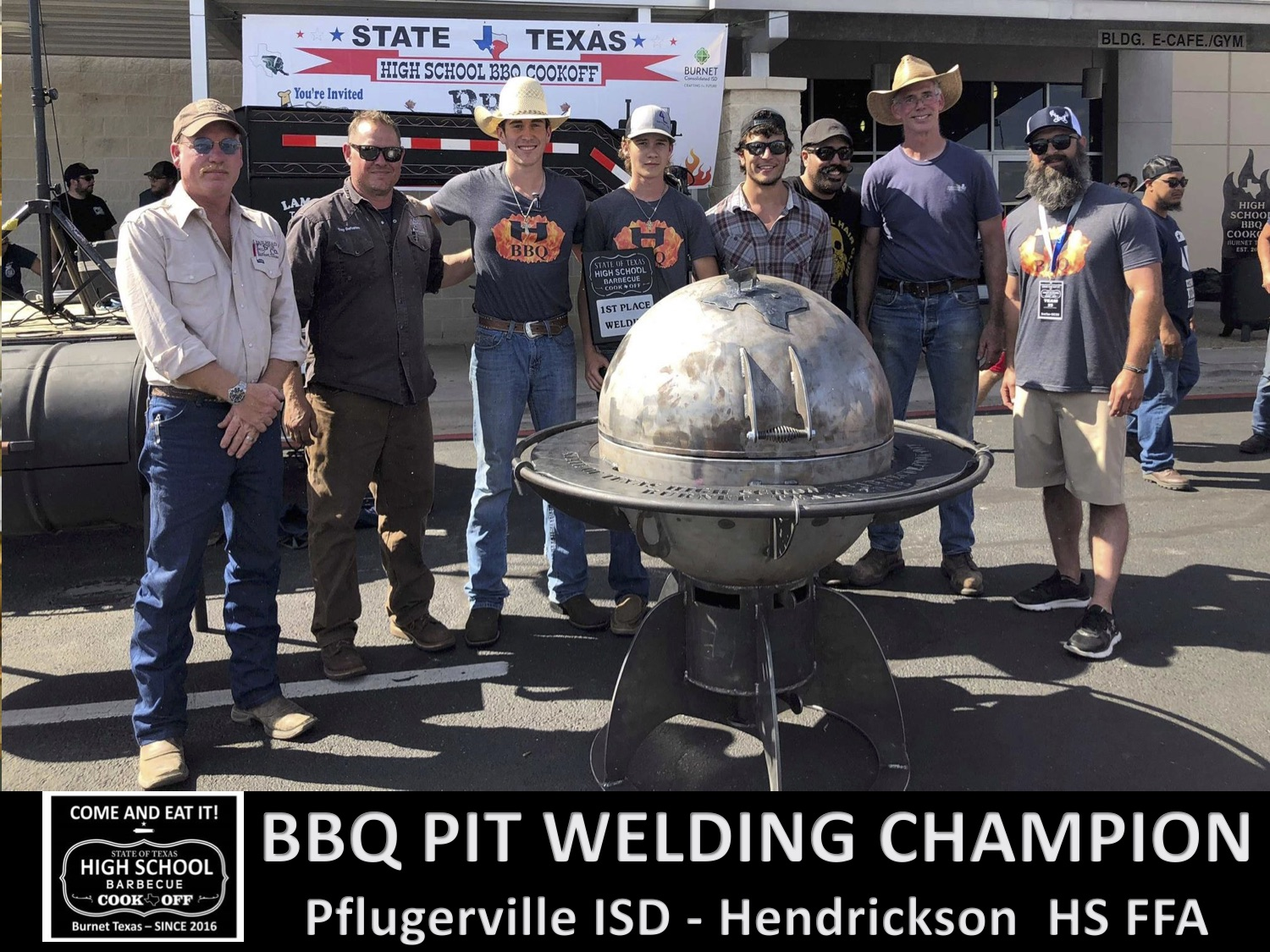 2018 Texas HS welding champs