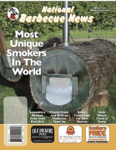 MARCH BBQ Magazine Front