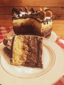 Diner Pie Cake Slice