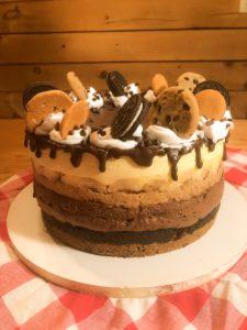 Diner Pie Cake