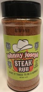 Johnny Joseph Steak rub