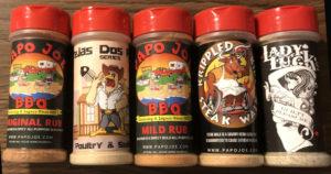 Papo Joe BBQ Rubs