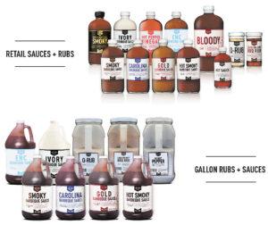 Lillies Q BBQ products