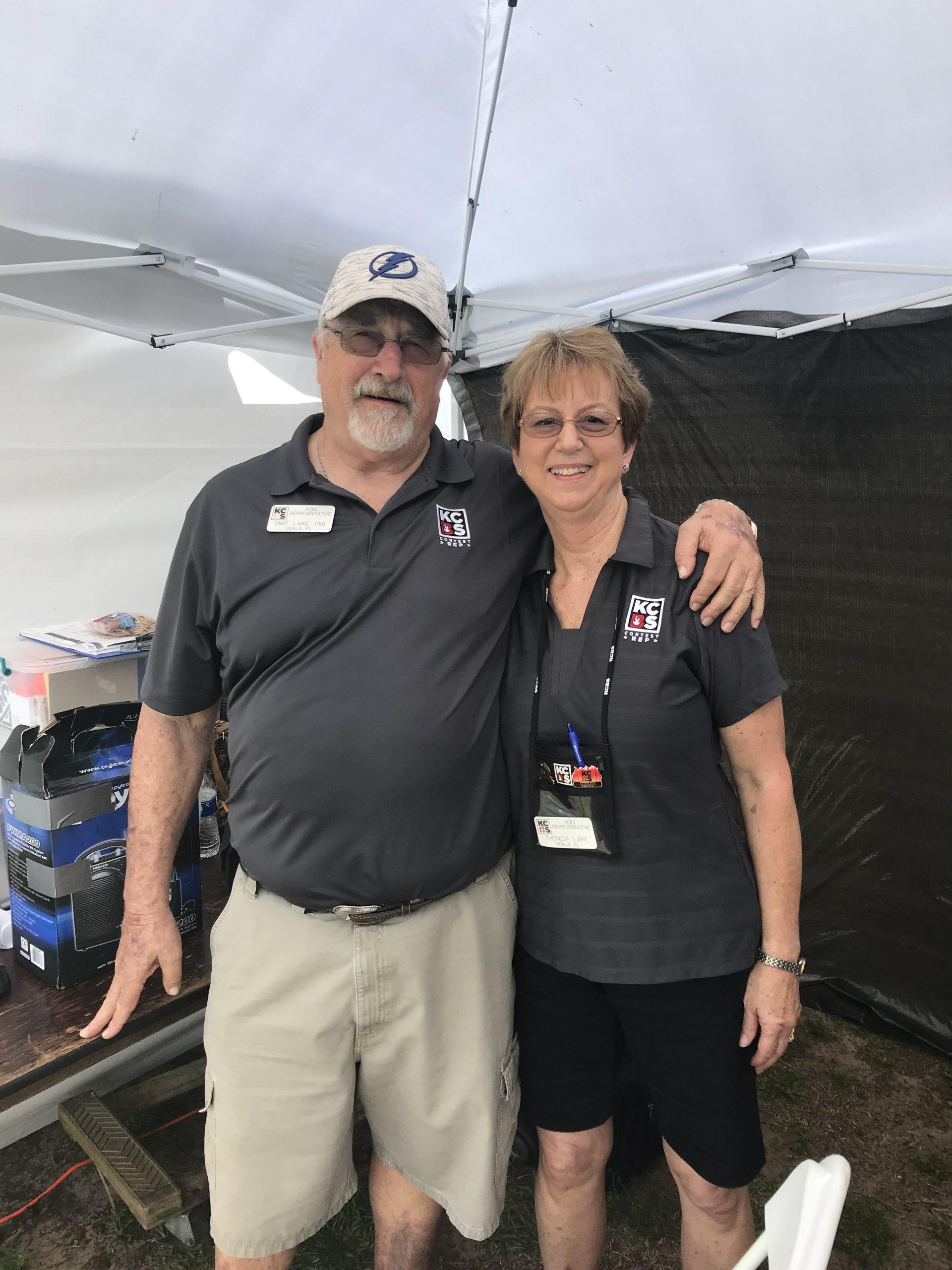 Mike and Theresa Lake