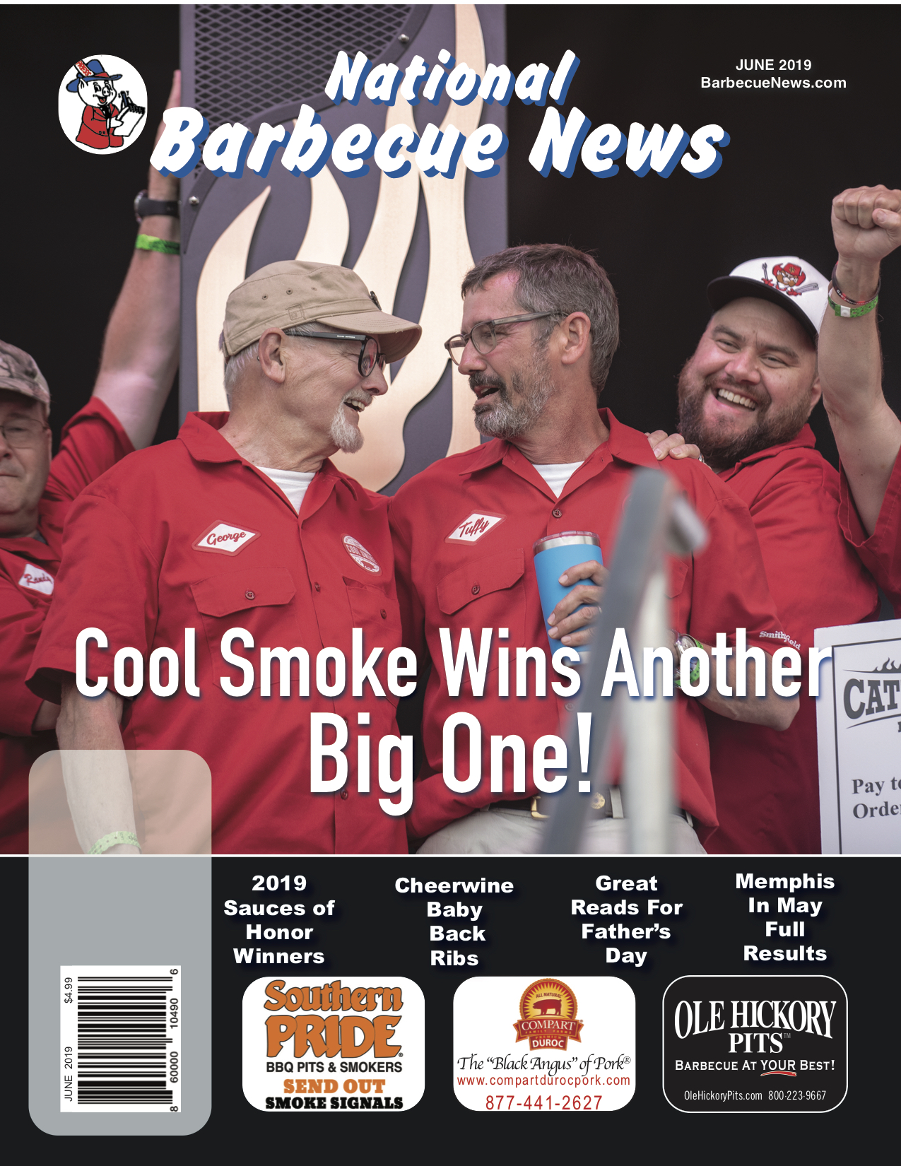June 2019 BBQ Magazine Front Cover