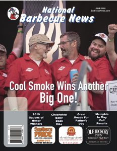 JUNE2019 BBQ Magazine Front JUNE2019 BBQ Magazine Front Photo courtesy of Daren Proctor