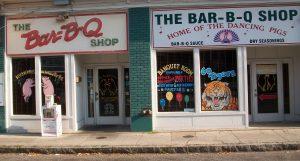The Bar B Q shop Memphis
