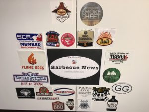 BBQ Sticker Board