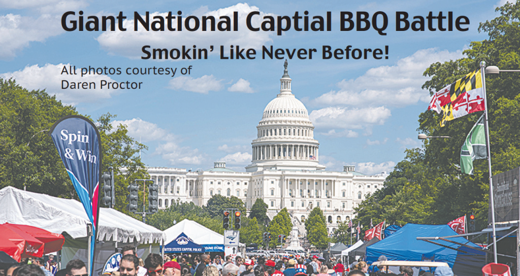BBQ invades the capital