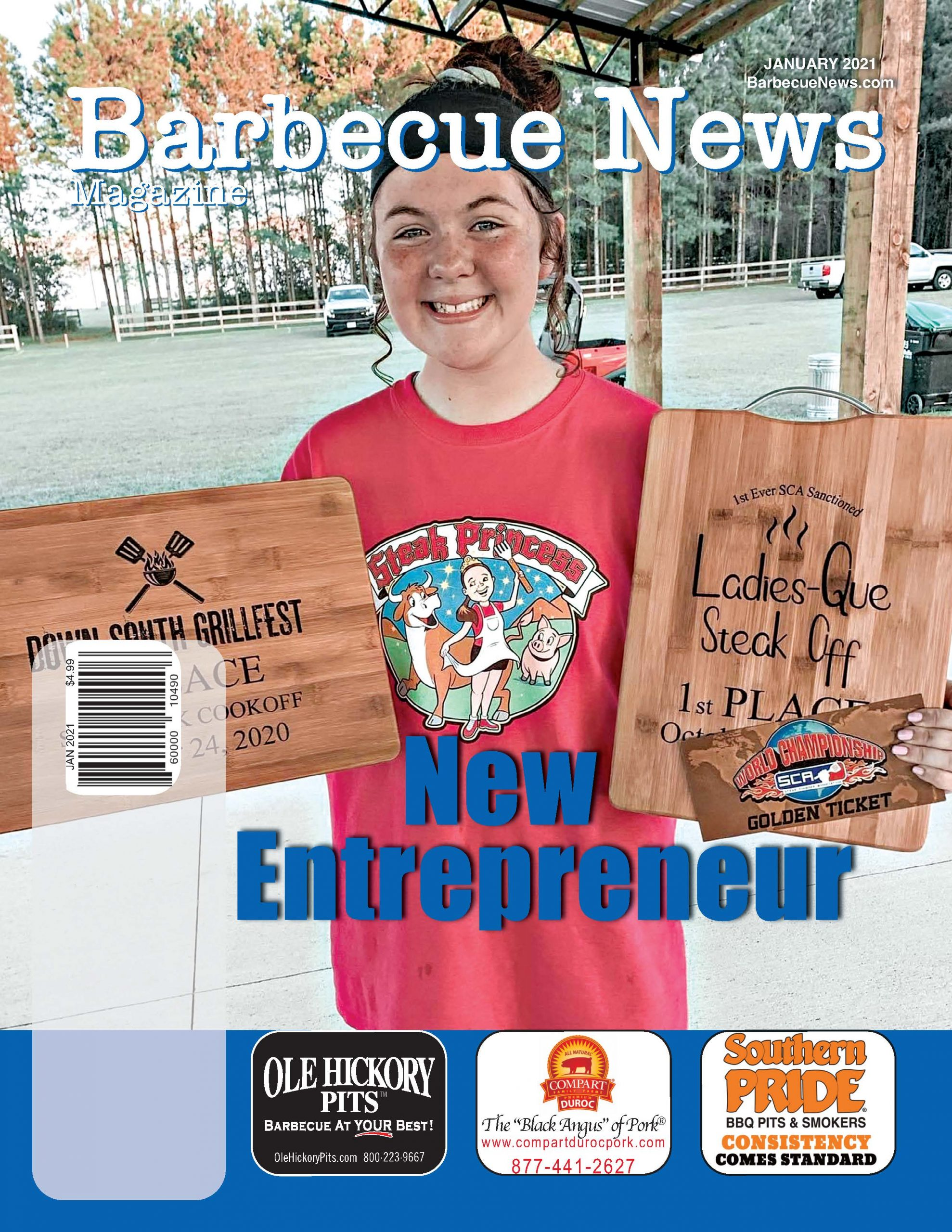 Barbecue News Magazine JAN2021 Front Page